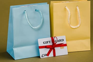 Why gift cards could be the answer to maximising in-store and online sales